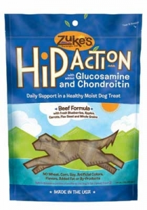 Hip Action® Dog Treats - Beef