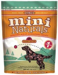 Mini Naturals Treats - 1 lb. - Peanut Butter