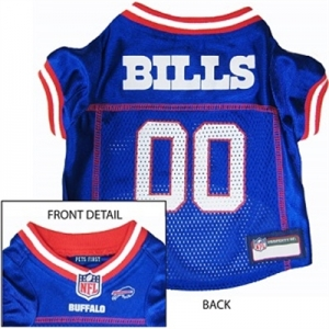 Buffalo Bills Dog Jersey – Red Trim
