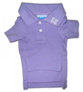 Lilac Button's Up Polo