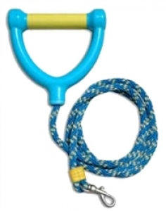 Water Ski Rope Leash (Yellow & Blue)
