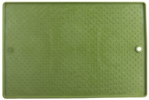 Gripp Mat Feeding Mat by Dexas - Green