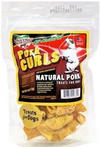 Pork Curls 4 oz Bag - All Natural