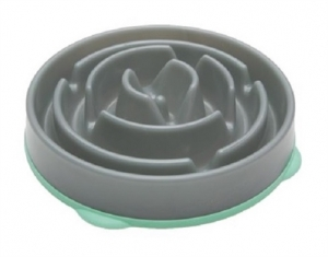 Kyjen Dog Games Slo-Bowl Drop Grey