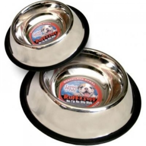 96oz Standard No-Tip Stainless Dish