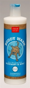 Cloud Star® Buddy Wash™ Pet Shampoo Plus Conditioner - Rosemary and Mint 16 fl. oz.