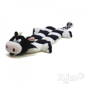 Kyjen Squeaker Mat Long Body - Cow