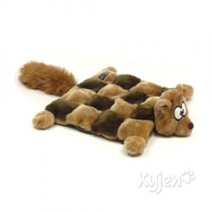 Kyjen Square Squeaker Mat - Squirrel