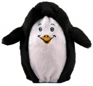 Kyjen Hard Boiled Softies- Penguin