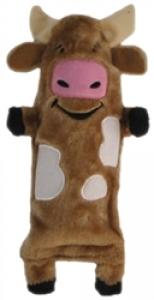 Kyjen Bottle Buddies - Cow Crinkler Toy