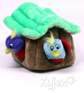 Kyjen Dog Toy Puzzle Plush- Hide-A-Bird