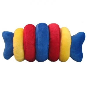 Kyjen Dog Toy Puzzle Plush- IntelliBone