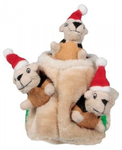 Kyjen Christmas Hide-A-Squirrel Large