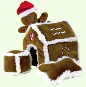 Kyjen Christmas Hide-A-Gingerbread House