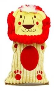 Kyjen Bottle Buddies Squeaker - Lion