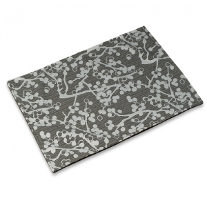 Charcoal Cherries Mess Mat
