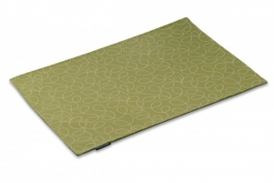 Green Loopy Mess Mat